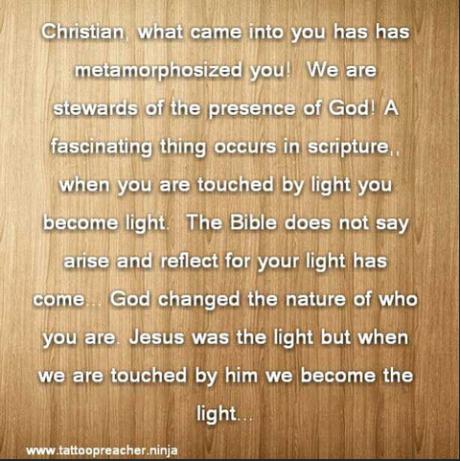 30 Second Sermon: Light Transforms Darkness  
